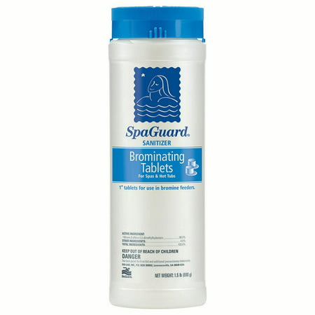 Spa Time Brominating Tablets (SpaGuard Brominating Tablets - 1.5)