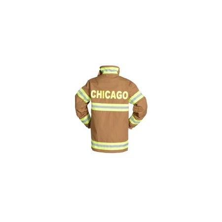 Adult Firefighter Suit-CHICAGO In Tan or Black (Chicago Costumes)