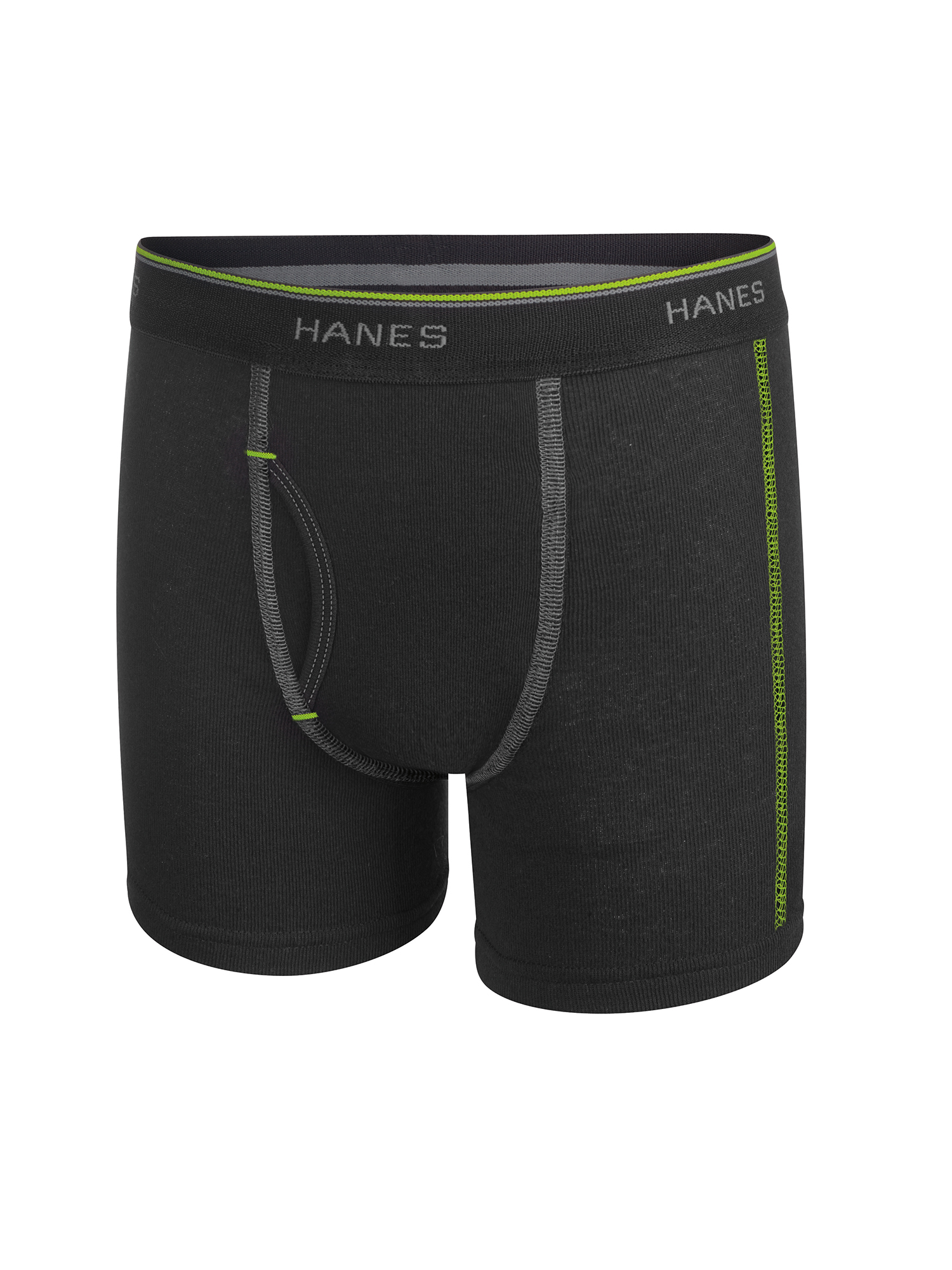 Hanes Boys Underwear, 7 Pack Tagless Boy's Boxer Briefs Assorted Colors, (Big Boys)
