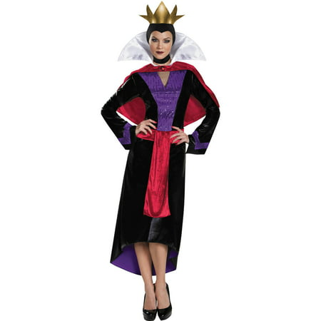 Evil Queen Deluxe Women's Adult Halloween - Dark Evil Halloween Makeup