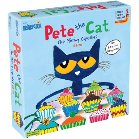 5 Grade Math Games (Pete the Cat Missing Cupcakes)