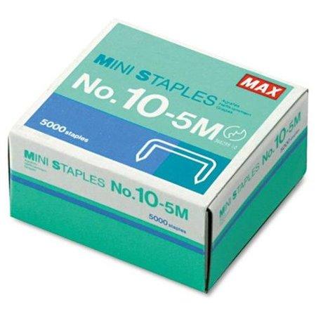 MAX HD-10DF Mini Staples - 100 Per Strip - Heavy Duty - 3/16