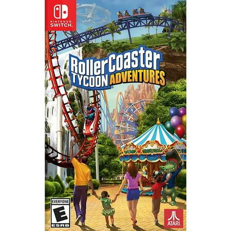 Atari Flashback Classics RollerCoster Tycoon Adventure, Atari, Nintendo Switch, (Roller Coaster Tycoon 3 No Cd Crack)