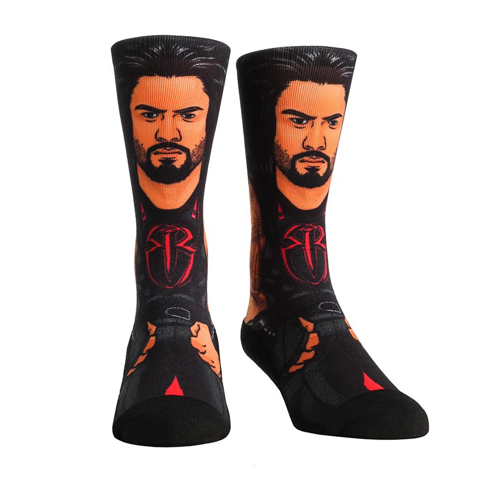 Official WWE Authentic Rusev Rock 'Em Socks Multi