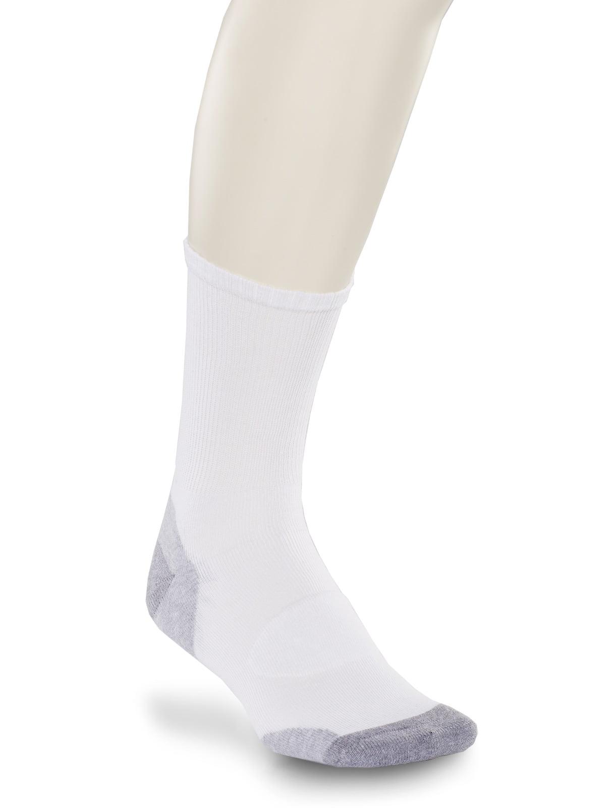 Men's Big & Tall Harbor Bay 3-pk Balance Point Continuous Comfort Crew Socks