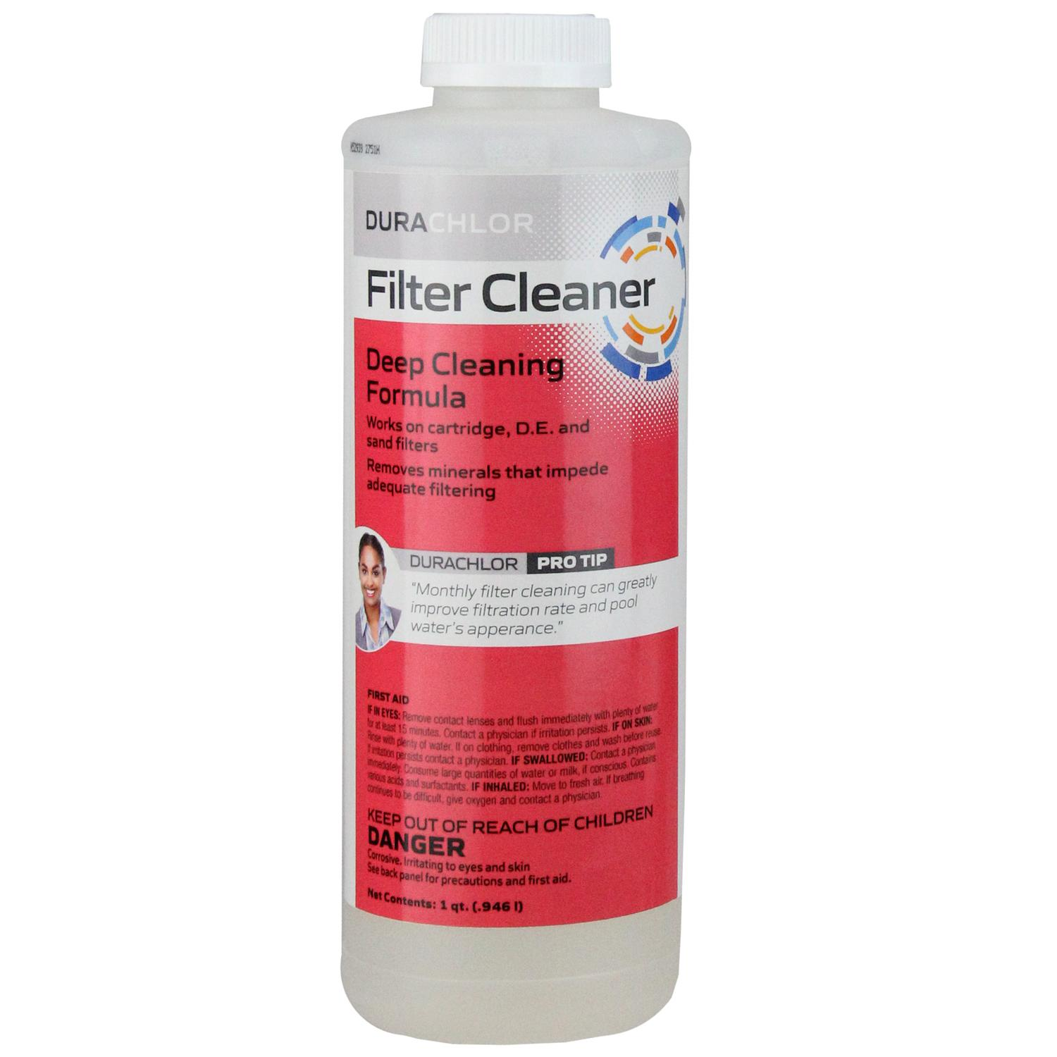 Haviland Durachlor Swimming Pool Deep Cleaning Filter Cleaner 1 qt