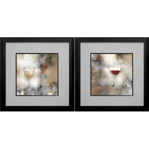 Star Creations 'Old Cellar I and II' by J.P. Prior 2 Piece Framed Graphic Art Print Set