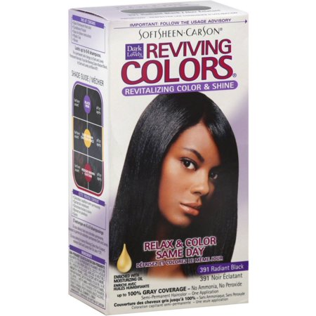 Dark and Lovely Reviving Colors, No.391, Radiant Black, 1