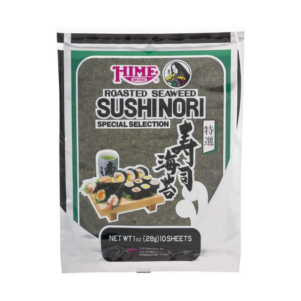 Hime Brand Sushinori Roasted Seaweed SHeets 10 CT by Jfc International Inc