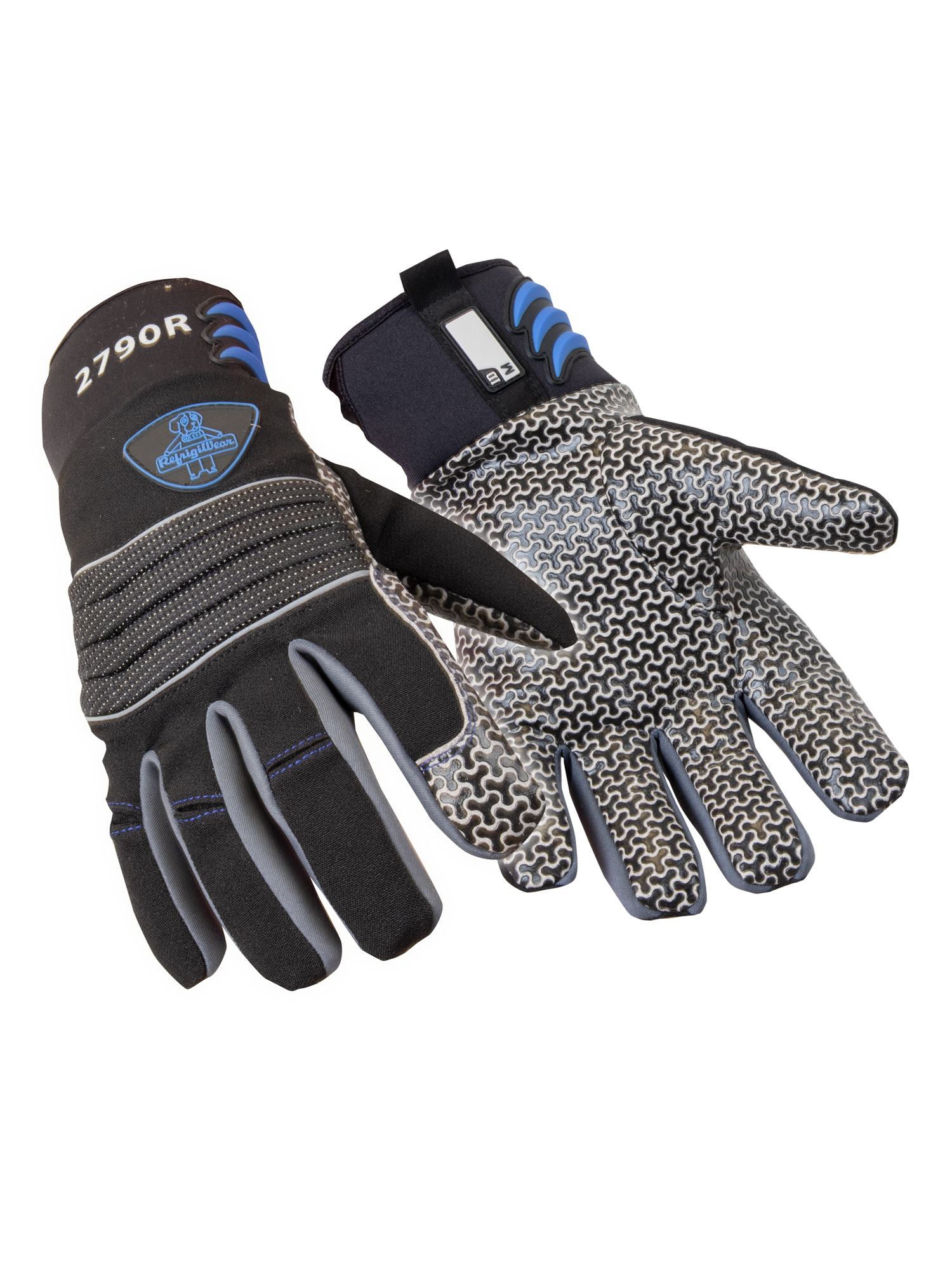 Coating None, 3 Pairs Max 5.0 Thermal Insulated Sport Utility Gloves 2XL Black Lining Thinsulate