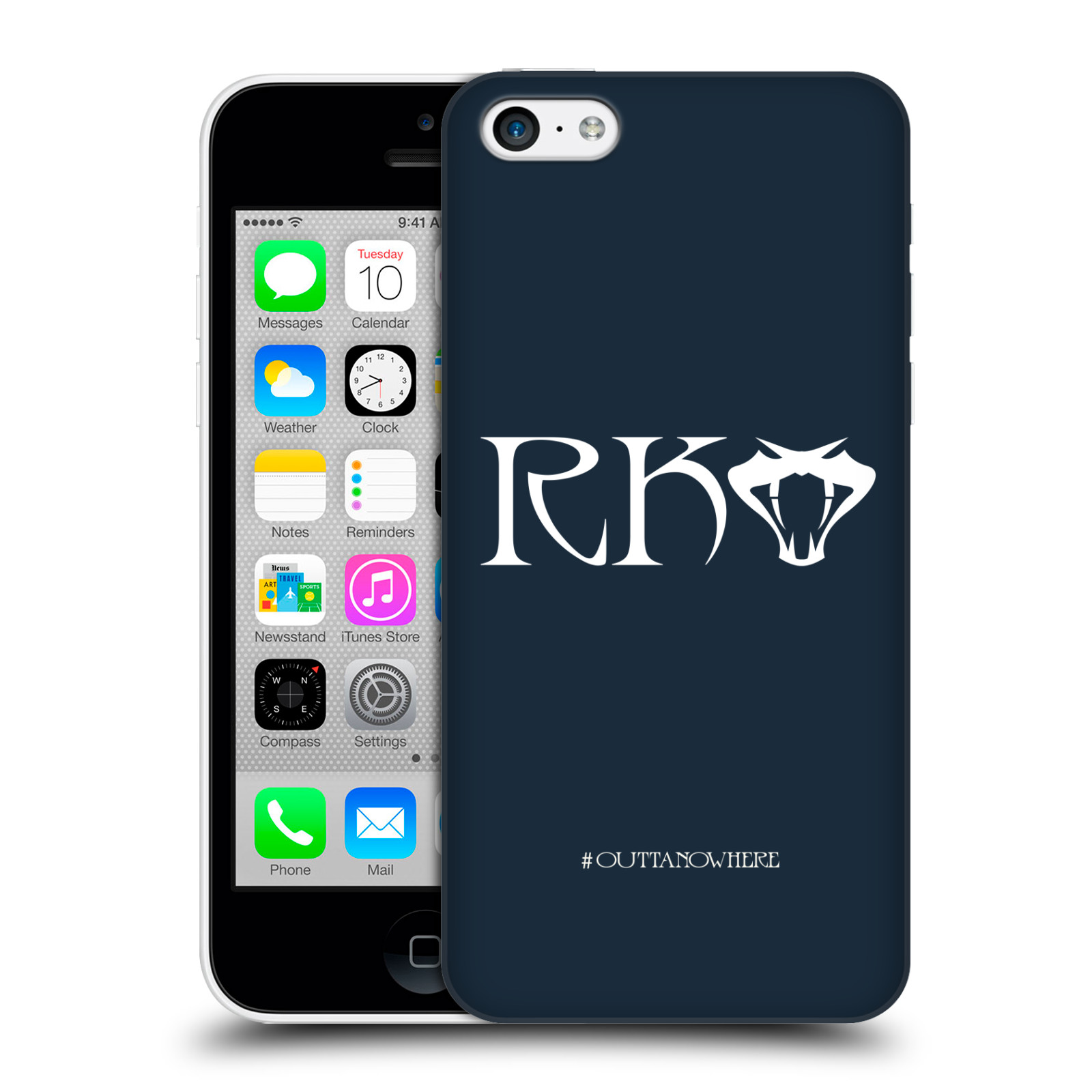 OFFICIAL WWE RANDY ORTON HARD BACK CASE FOR APPLE IPHONE PHONES