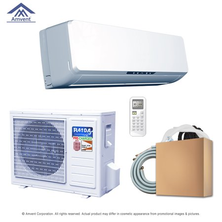 Super Efficiency 12000 BTU Inverter Ductless Mini Split and Heat Pump -220Volts/60 Hz Heat Pump Efficiency