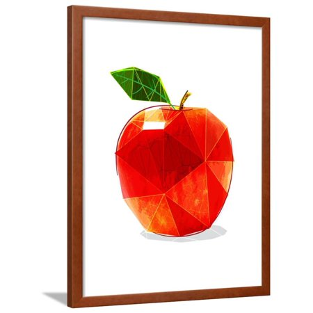 Apple Framed Print Wall Art By Enrico Varrasso - Walmart.com