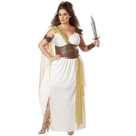 Spartan Warrior Queen Plus Size Adult Costume
