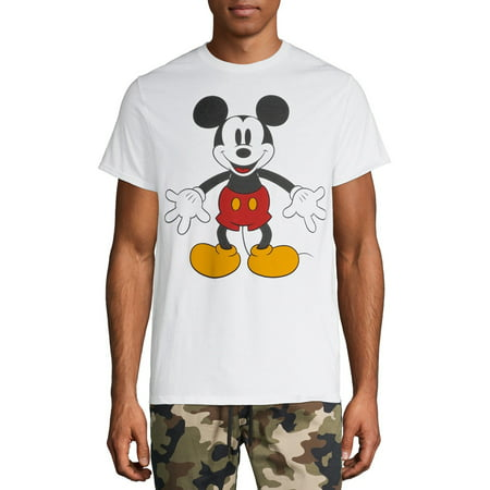 Men's Disney Original Mickey Mouse Minimal Graphic T-shirt