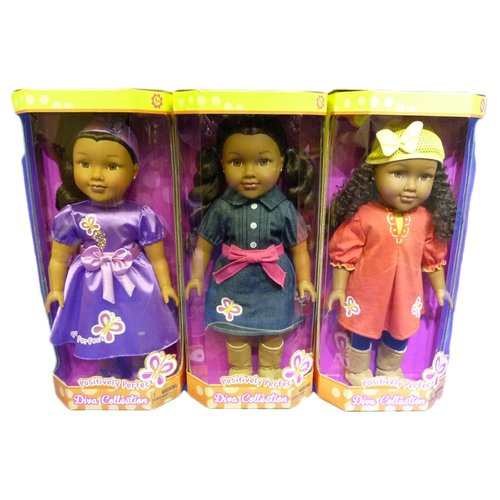 """Positively Perfect Diva Collection 18"""" Doll Assortment"""