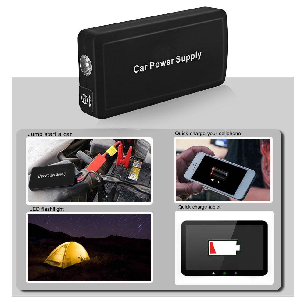 Smart Clip Start Power Supply Charger Emergency Car Batte...