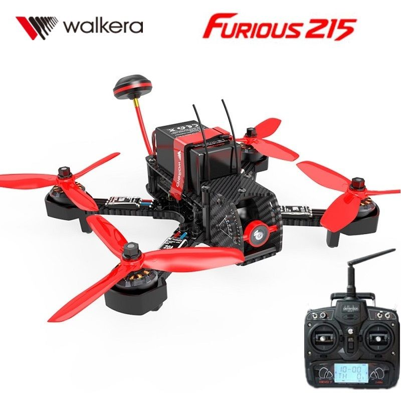Walkera Furious 215 5.8G RC Drone Brushless F3 Flight Controller OSD Devo 7 FPV Racing Quadcopter RTF by