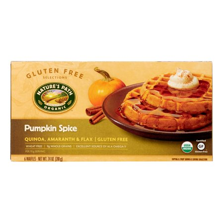 Natures Path Natures Path Organic Gluten Free Selections Waffles, 6 ea