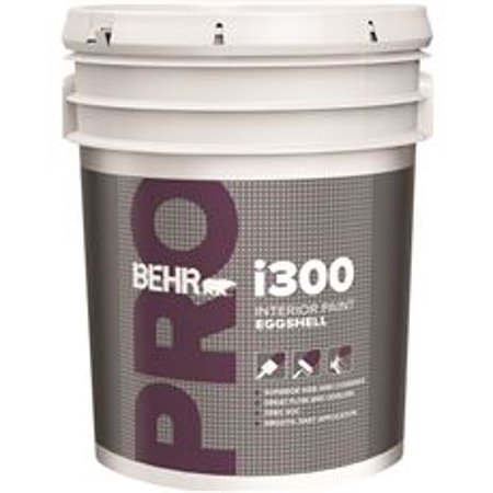 Behr pro i300 eggshell interior paint 5 gallon antique for Behr pro paint