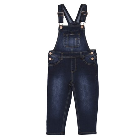 Denim Overalls (Toddler Girls) - Chucky Overalls For Toddlers
