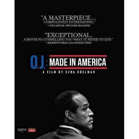 Espn Films 30 For 30  Oj   Made In America  Blu Ray