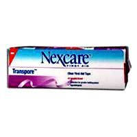 3M Nexcare Transpore Plastic Tape - 2 Inches - 6 Packs