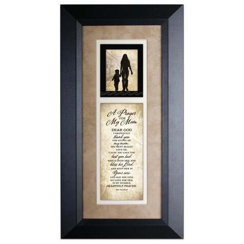 The James Lawrence Company 'Prayer For My Mom' Framed Textual Art