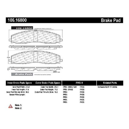 Go-Parts OE Replacement for 2012-2018 Ford F-250 Super