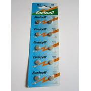 10 x AG3 / LR41 / G3 / SR41W 1.5v Alkaline Cell Battery Batteries NEW, Eunicell AG3 / LR41 / G3 / SR41W 1.5v Alkaline Cell Battery Batteries By Eunicell
