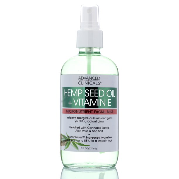 Hemp + Vitamin E Micronutrient Skin Energizing, Instantly ...