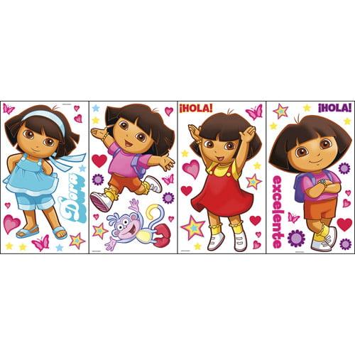 Nickelodeon Dora Room Appliques