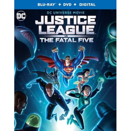 Justice League vs. The Fatal Five (Blu-ray) (The Rock Vs Brock Lesnar Vs John Cena)