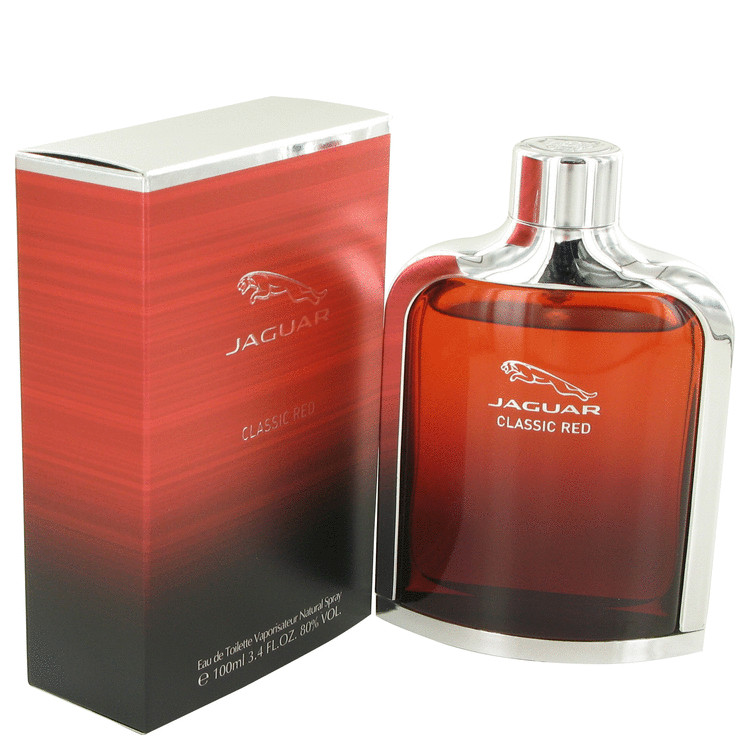 Jaguar Jaguar Classic Red Eau De Toilette Spray for Men 3.4 oz