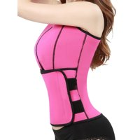 046459720f Product Image Women s Neoprene Tank Top Vest Waist Trainer Cincher Corset Trimmer  Belt Sauna Suit Body Shaper for
