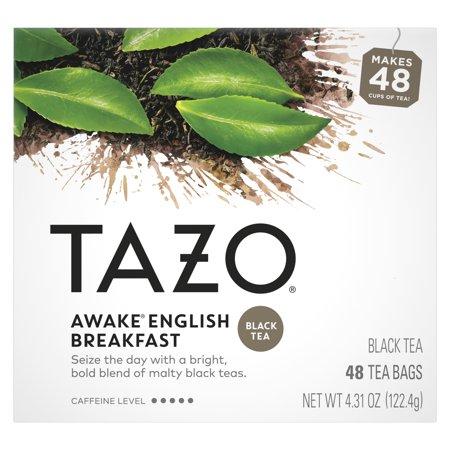 TAZO Awake English Breakfast Black Tea Tea Bags 48 Count