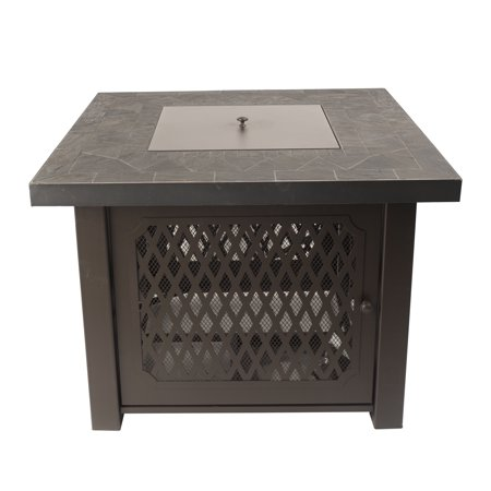 Pleasant Hearth OFG828T Walden Gas Fire Pit Table ()
