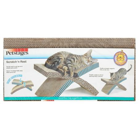 Petstages Cat Scratcher Cat Hammock Cat Blue Scratching Post (Dj Cat Scratch)