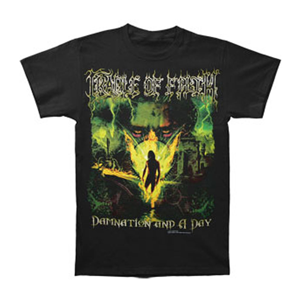 Cradle Of Filth Men's  Damnation T-shirt Black