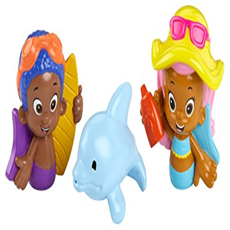 Fisher-Price Nickelodeon Bubble Guppies Molly, Goby and