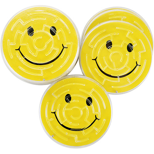Party Favors - 12-Pack, Smile Maze Puzzles