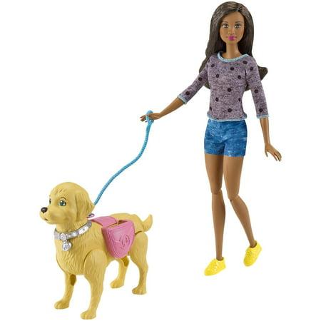 Barbie Walk & Potty Pup Nikki Doll