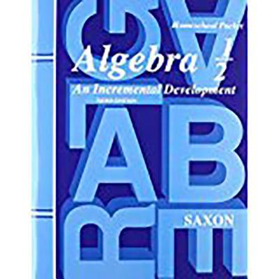 Saxon Algebra 1/2 Answer Key & Tests Third Edition ()