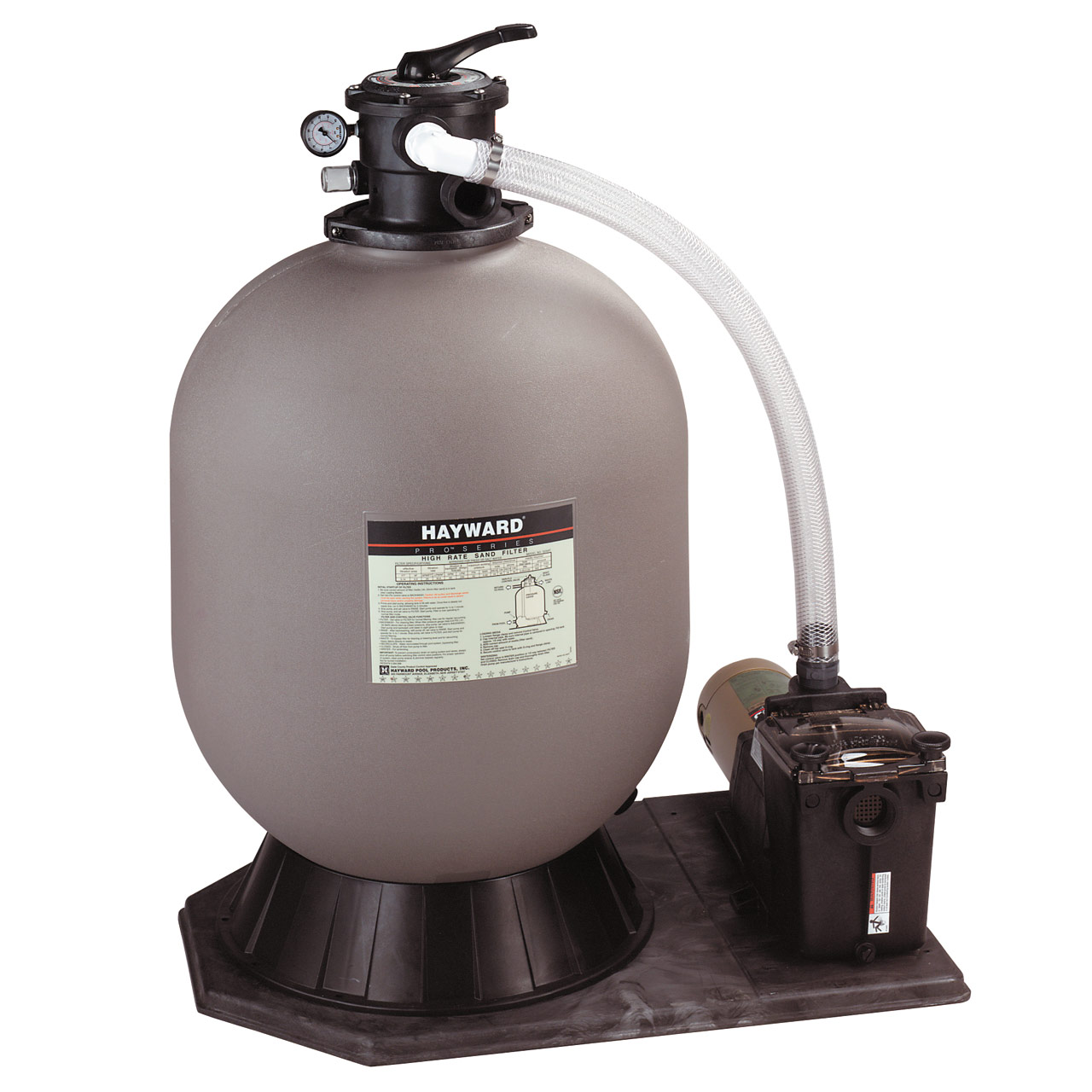 Hayward In-Ground Pro Series 24 Inch Sand Filter & 1 HP Super Pump