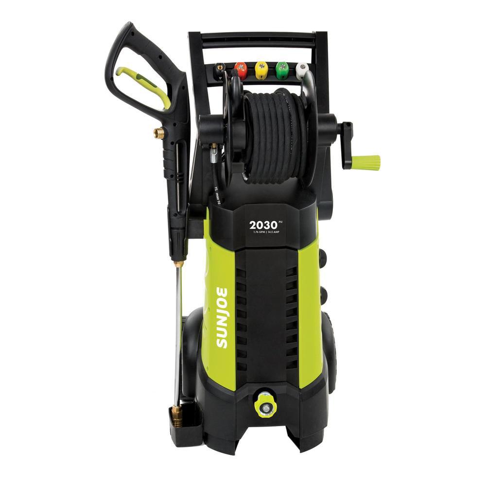 Sun Joe SPX3001 Electric Pressure Washer | 2030 PSI � 1.76 GPM � 14.5-Amp | Hose Reel by Snow Joe LLC