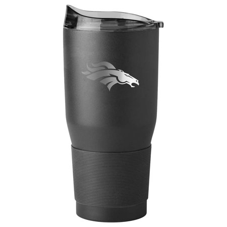 Denver Broncos 30oz. Black Powder Coat Ultra Travel Mug - No Size Denver Broncos Travel Mug