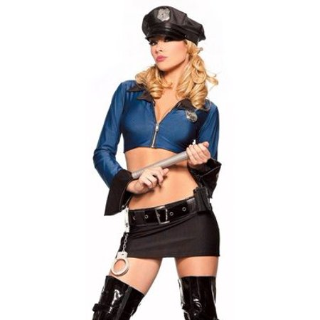 Sexy Adult Womens Halloween Costumes Hot Cop Police Officer Law Enforcement Costume Theme Party Outfit