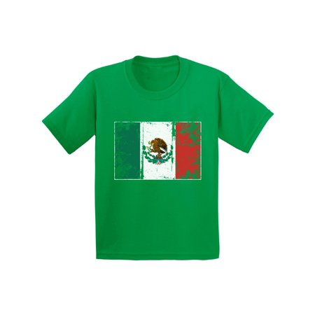 Soccer Kids Shirt (Awkward Styles Mexico Flag Youth Shirt Flag of Mexico Mexican Youth Mexican Kids Shirt Kids Mexico Soccer Tshirt Soccer Gifts for Boys Mexico Shirt for Girls Mexican Soccer 2018 Tshirt)