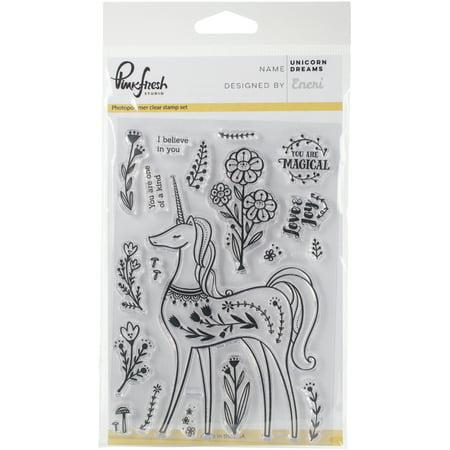 - Pinkfresh Studio Clear Stamp Set 4