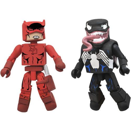 Marvel Minimates Best Of Series 2 Daredevil & Venom Action Figures, 2-Pack